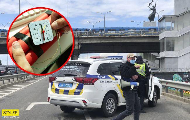 В Киеве ограничена работа метро: мужчина угрожал взорвать мост