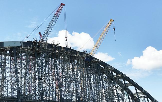 """Українське підприємство постачало матеріали для будівництва """"Кримського мосту"""", - СБУ"""