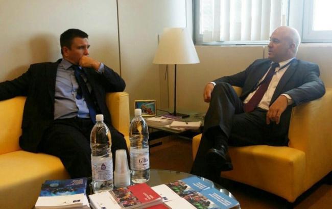 Фото: Павел Климкин встретился с Нилсом Мужниексом в Страсбурге