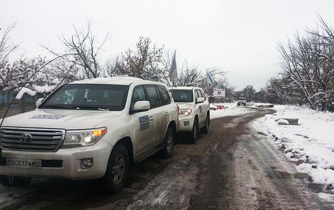 Фото: ОБСЕ на Донбассе (facebook.com/oscesmm)