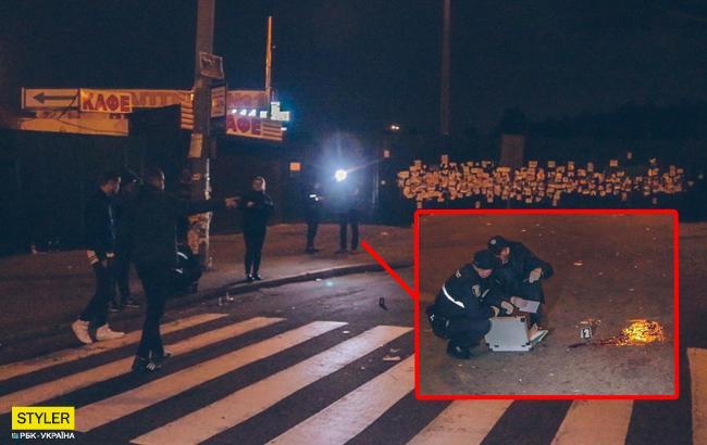 В Киеве кавказцы устроили драку со стрельбой: появилось видео