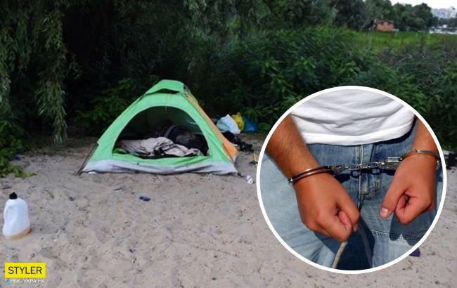 Раскрыто циничное убийствоженщины, котораяприехала в Киев на заработки ижила в палатке (видео)