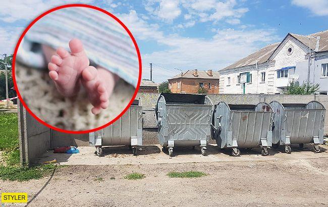 Под Киевом в мусорке обнаружили тело младенца: детали ЧП