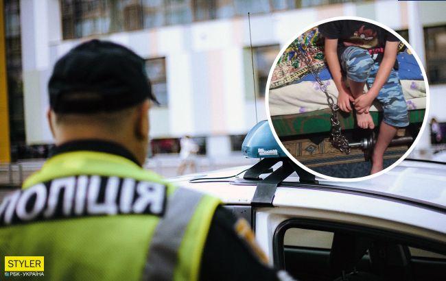 У Кривому Розі 7-річного хлопчика тримали на ланцюгу і били: дитина сама викликала поліцію