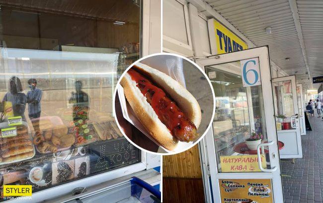 """Украинец на автовокзале купил выпечку с """"сюрпризом"""": внутри кишела червями (фото)"""