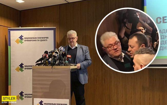 Стало известно, кто избил Сивохо: кандидат в нардепы