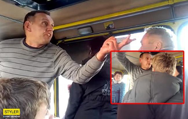 """""""Не заплатив"""": водій маршрутки облаяв і намагався виштовхати дитину"""