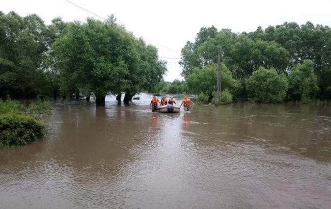 В западных областях Украины наводнение подтопило 70 населенных пунктов
