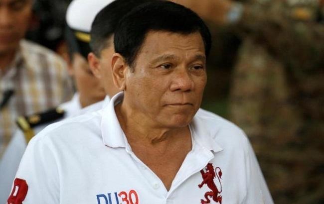 Фото: президент Філіппін Родріго Дутерте
