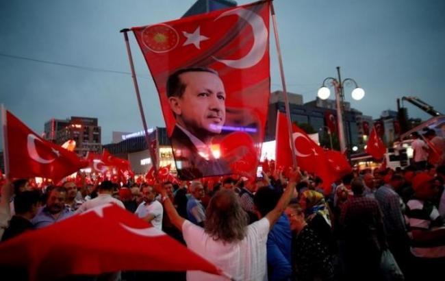 Фото: конституционный референдум в Турции