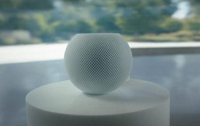 Apple анонсувала розумну колонку HomePod mini