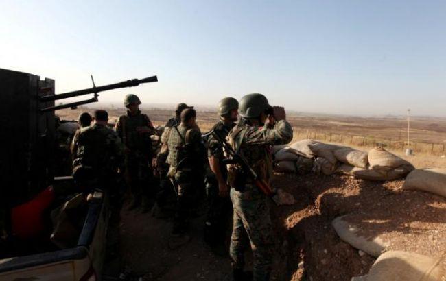 """Фото: армія курдів """"Пешемерга"""""""