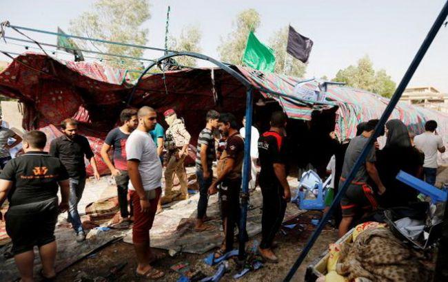 Фото: теракт в Багдаде