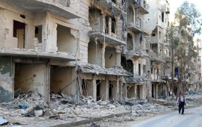 Фото: ситуация в Алеппо привела к огромным потерям мирного населения
