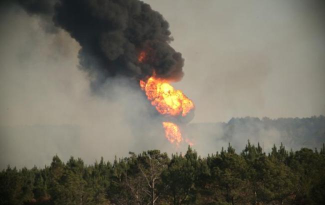 Фото: взрыв в США