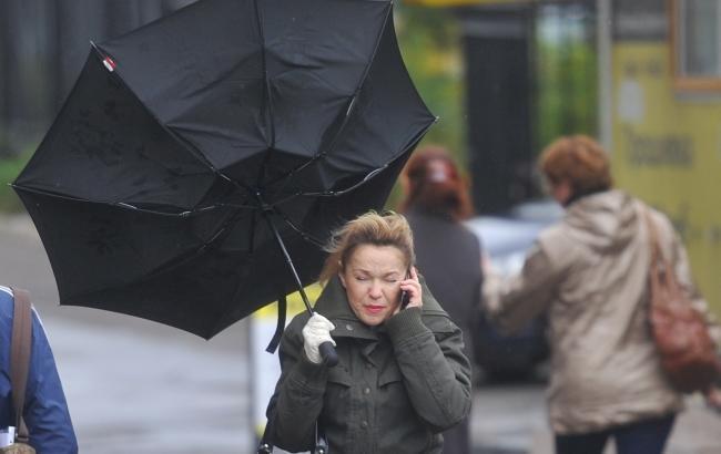 Фото: В Украине объявили штормовое предупреждение (kp.ru)
