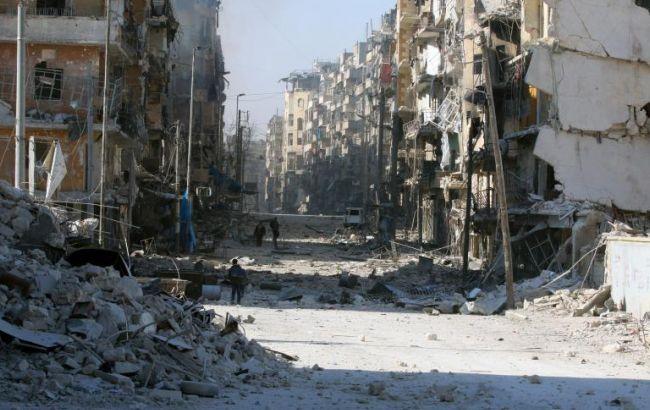 Фото наслідки бойових дій в Алеппо