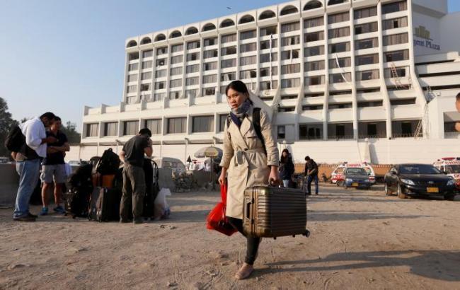 У Пакистані сталася пожежа в готелі, 11 загиблих