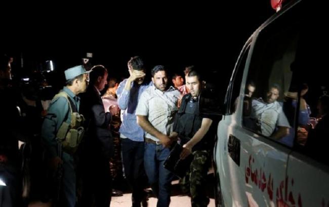 Фото: нападение наАмериканский университет вКабуле