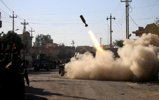 Фото: боевые действия за Мосул