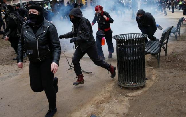 Інавгурація Трампа: поліція затримала 50 учасників протесту у Вашингтоні