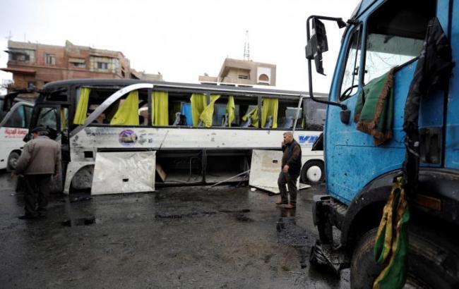 Фото: вибух у Дамаску