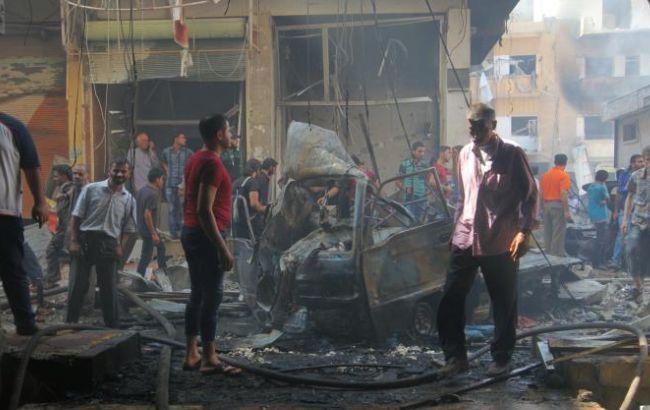 Фото: по сирийскому Идлибу нанесли авиаудары