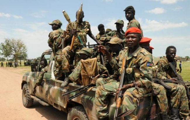 Фото: військові Південного Судану