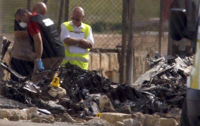 Фото: на Мальте разбился самолет с чиновниками