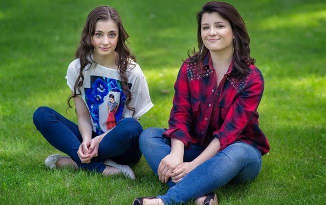 Фото: Дочки президента (vchaspik.ua)