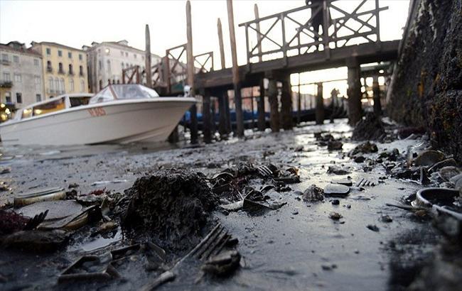 """В сети показали фото """"обезвоженной"""" Венеции"""