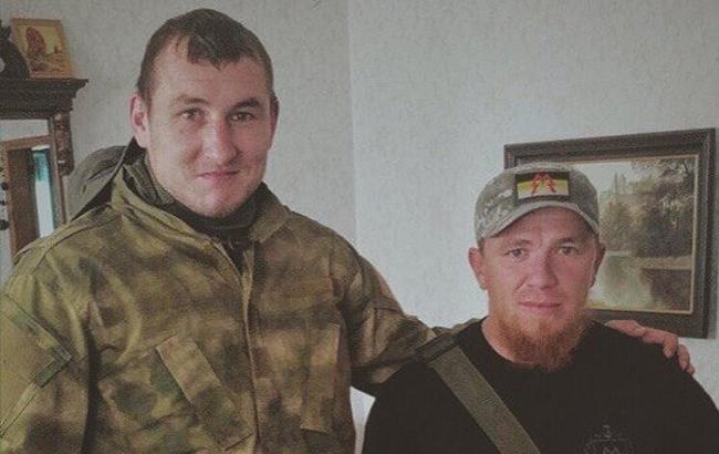 """Фото: Боевик """"ЛНР"""" и Моторола"""