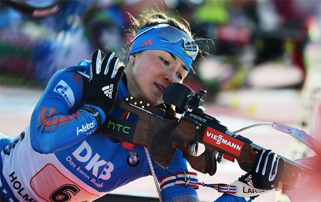 Российская биатлонистка опозорилась в прямом эфире