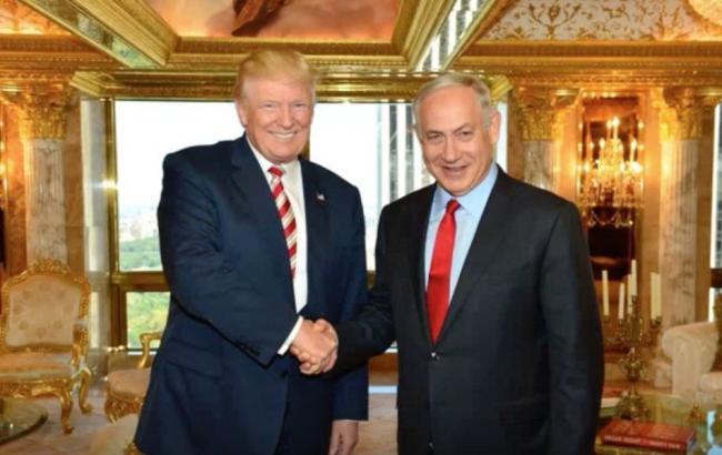 Фото: Дональд Трамп встретился с Биньямином Нетаньяху а Вашингтоне