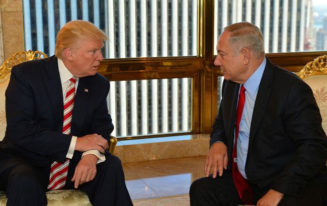 Трамп пригласил Нетаньяху посетить Белый дом ссамого начала февраля