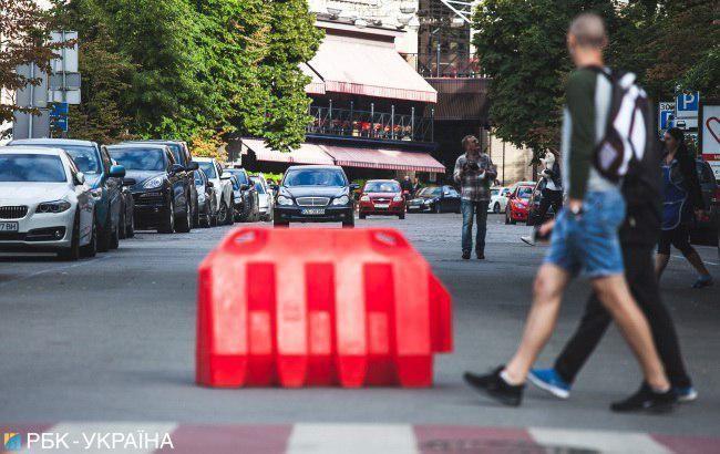У Києві на День Незалежності перекрили центральні вулиці