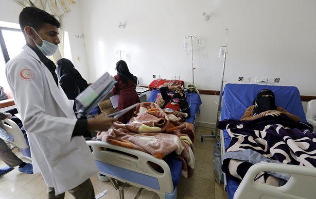 У Ємені зафіксовані майже 800 смертей від холери