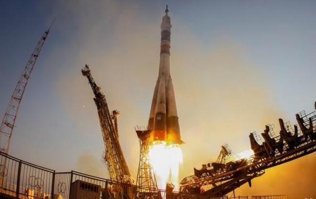 Фото: с Байконура стартовала ракета-носитель с новым экипажем МКС