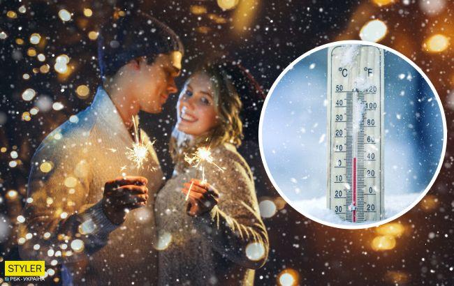 Синоптики обновили прогноз на Новый год в Украине