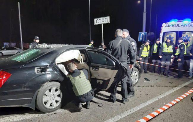 В результаті вибуху на Житомирській трасі загинув поліцейський