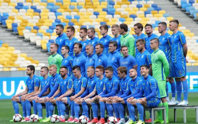 Фото: игроки сборной Украины (ffu.ua)