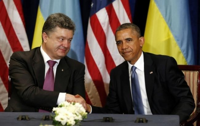 Фото: Петр Порошенко провел встречу с Бараком Обамой