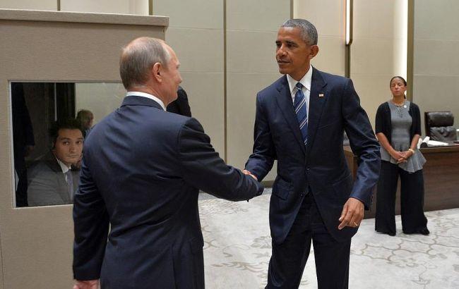 Фото: Обама і Путін обговорили ситуацію в Україні