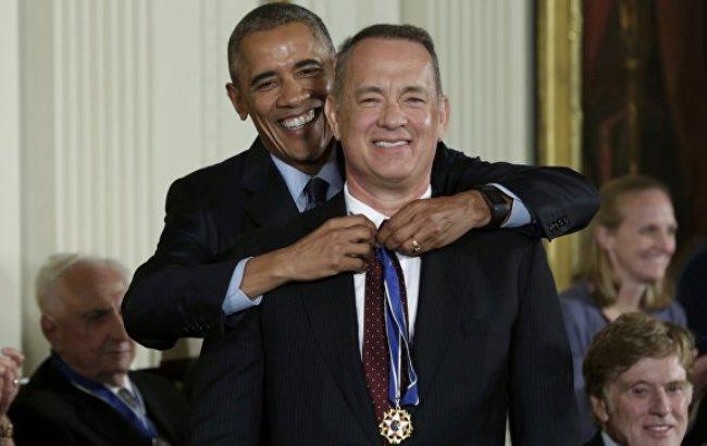 Обама впоследний раз вручил Президентскую медаль Свободы