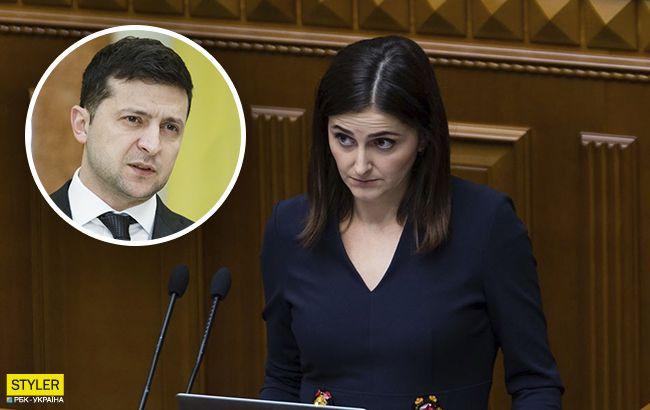"""Зеленский не обещал: """"слуга народа"""" сделала заявление о Крыме и олигархах (видео)"""