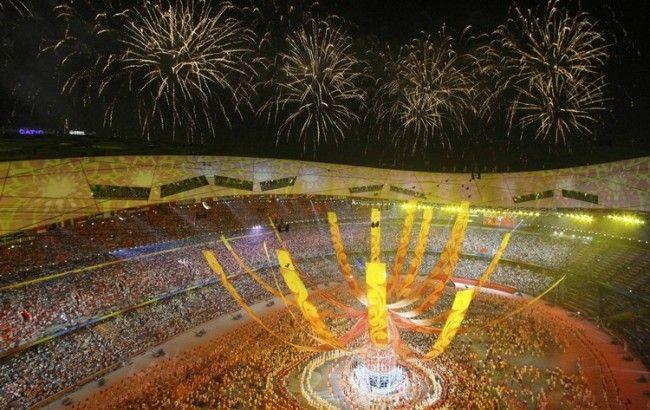 Фото: церемонія закриття Олімпіади в Пекіні в 2008 р.
