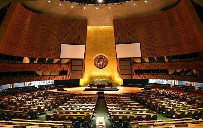 Генассамблея ООН сегодня рассмотрит вопрос сохранения территориальной целостности Украины