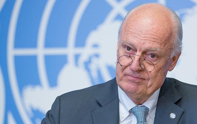 Фото: представитель ООН по Сирии Стаффан де Мистура (unmultimedia.org)
