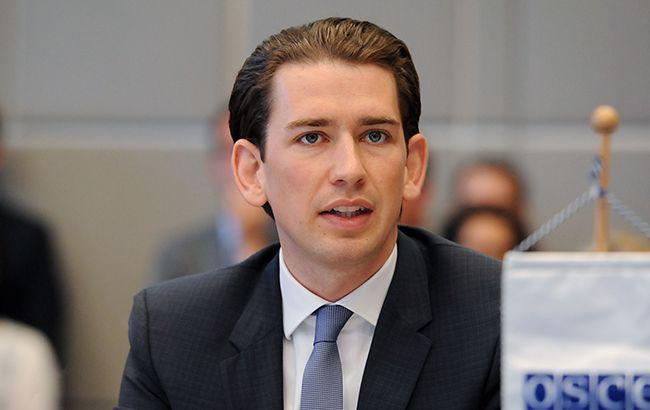 Новое правительство Австрии будет придерживаться курса ЕС по санкциям против России, - Курц