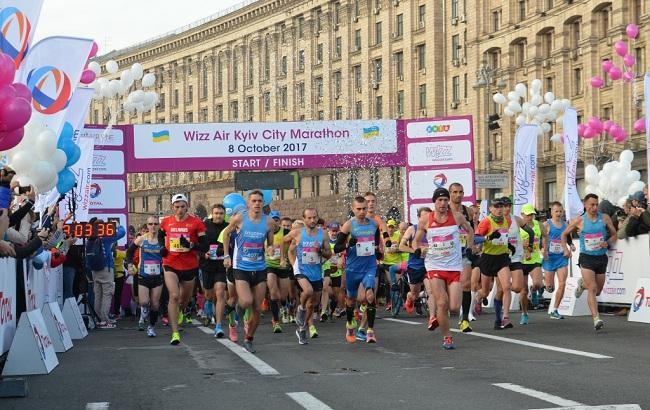8-й Киевский марафон Wizz Air Kyiv City Marathon 2017 собрал 10 тысяч бегунов из 52 стран мира